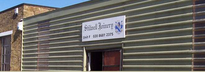 Welcome to the home of Stilwell Joinery