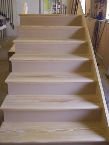 Nice ... Softwood And MDF Open String Staircase ...